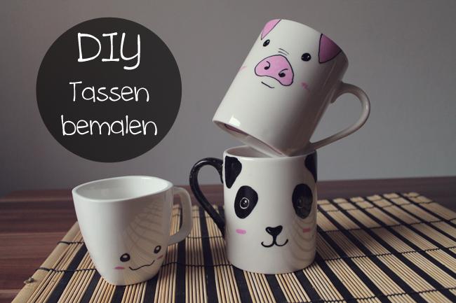 Diy Tassen Bemalen Kunecoco