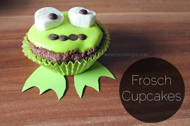 Rezept // Froschcupcakes