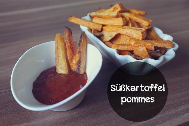 Rezept // Süßkartoffelpommes