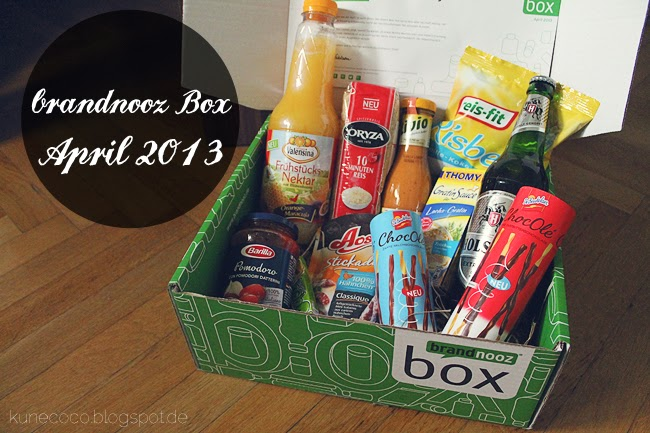 brandnooz Box April 2013