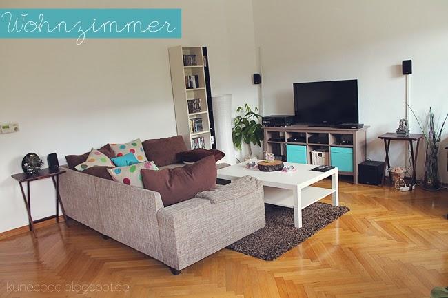 Endlich Bilder aus der neuen Wohnung – Das Wohnzimmer