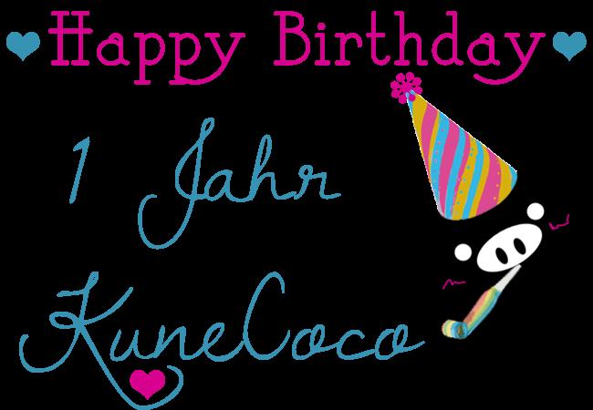 KuneCoco hat Geburtstag, tralalalala! + Gewinnspiel