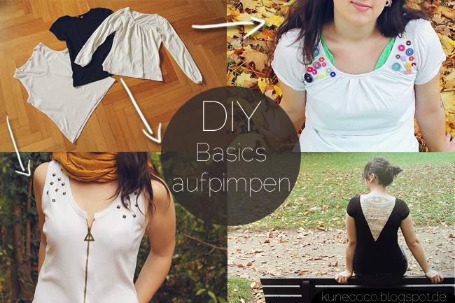 DIY // Basic-Klamotten aufpimpen!