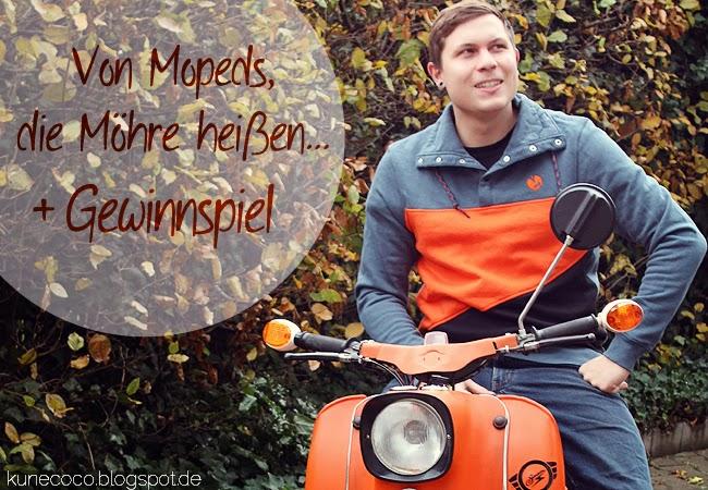 Von Mopeds, die Möhre heißen… (+Gewinnspiel)