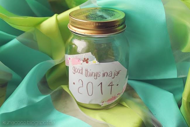 Good things in a jar ~ Das Glücks-Glas