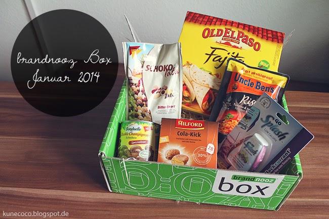 brandnooz Box Januar 2014
