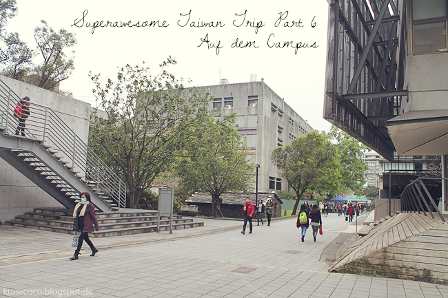 Superawesome Taiwan Trip // Part VI: Let's go to the Campus
