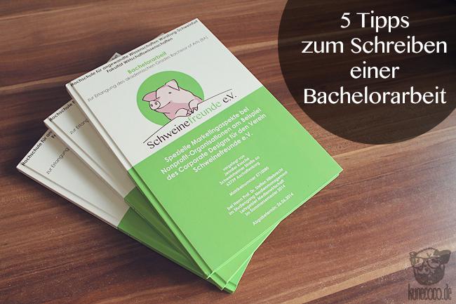 5 Tipps fürs Schreiben einer Bachelorarbeit