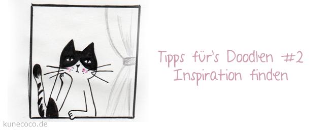 Tipps für's Doodlen #2 ~ Inspiration
