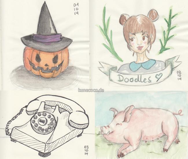 Project ADAD ~ Oktober Doodles