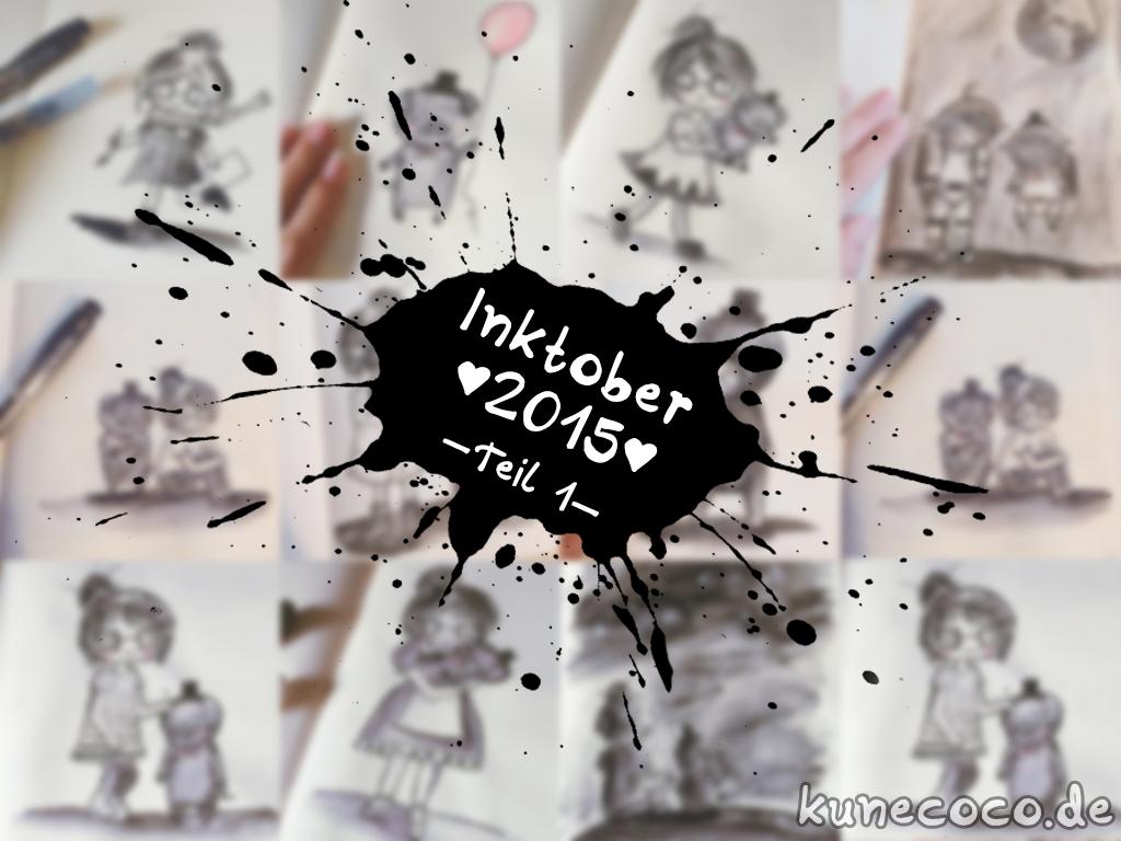 Inktober 2015 – Teil 1