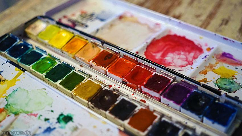 Tipps für's Doodlen #3 ~ Zeichenstifte und -farben