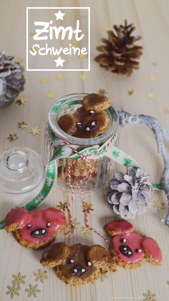 KuneCoco • Rezept: Zimtschweine