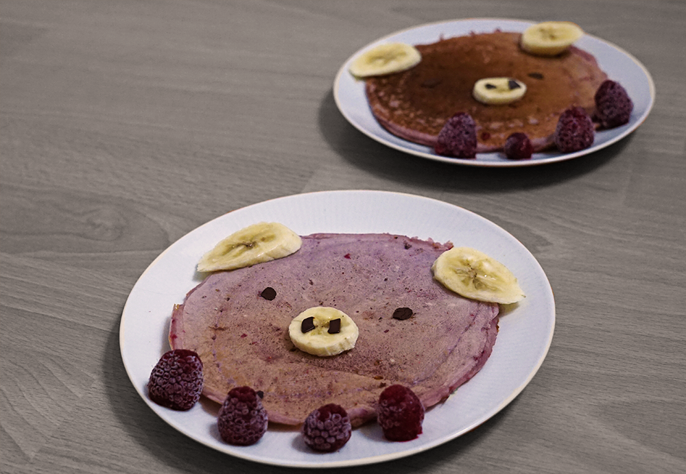 Rezept ~ Himbeer-Pigcakes