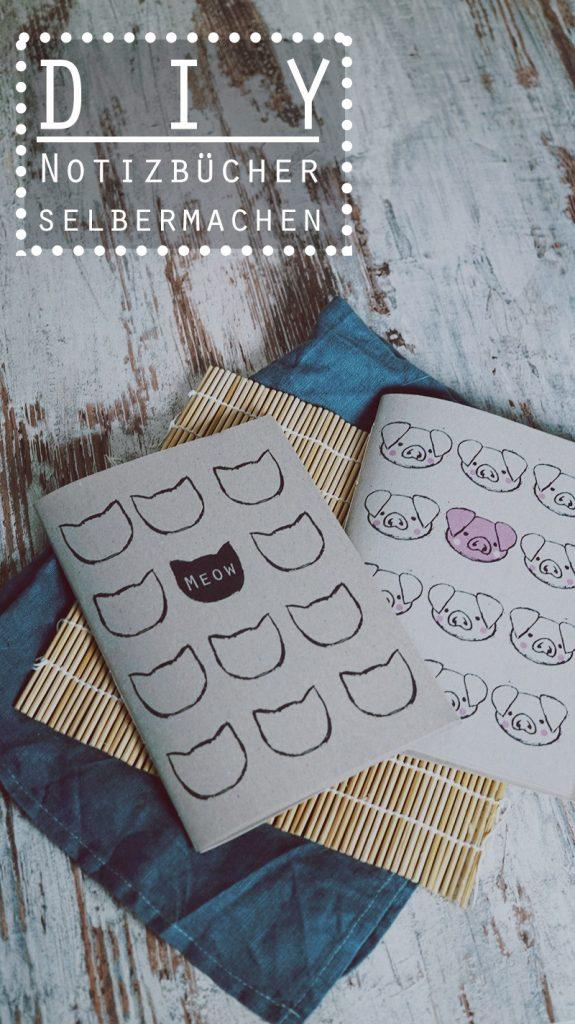 KuneCoco • DIY • Notizbücher einfach und schnell selbst gebastelt