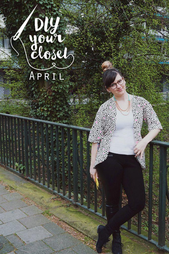 KuneCoco • DIY your closet April • Kimono Jacke