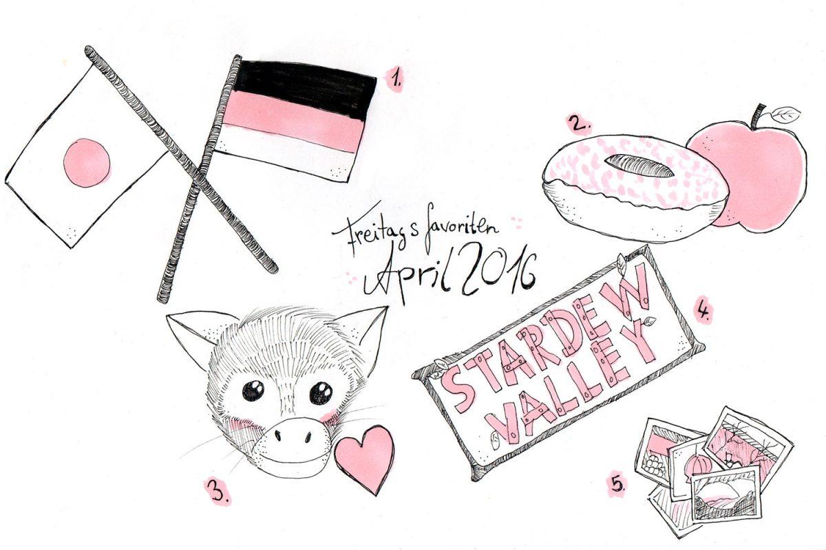 Freitagsfavoriten April 2016