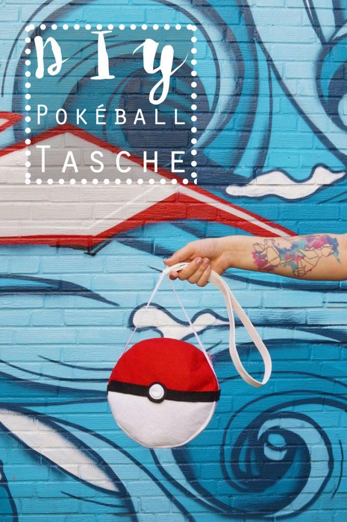 KuneCoco • DIY Pokéball Tasche • Pokémon • #GottaBlogEmAll