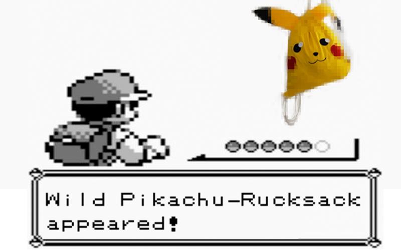 DIY ~ Pikachu Turnbeutel-Rucksack #GOTTABLOGEMALL