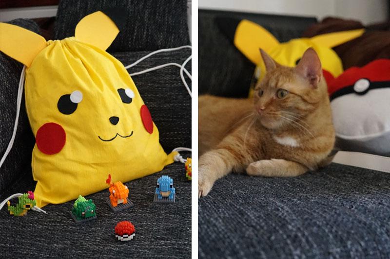 KuneCoco • DIY • Pikachu Rucksack #GottaBlogEmAll • Gimli