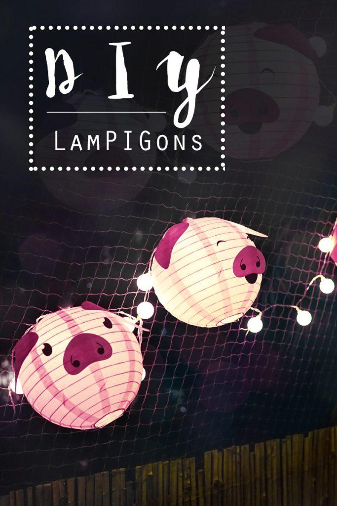 KuneCoco • DIY • LamPIGons • Schweine-Lampions