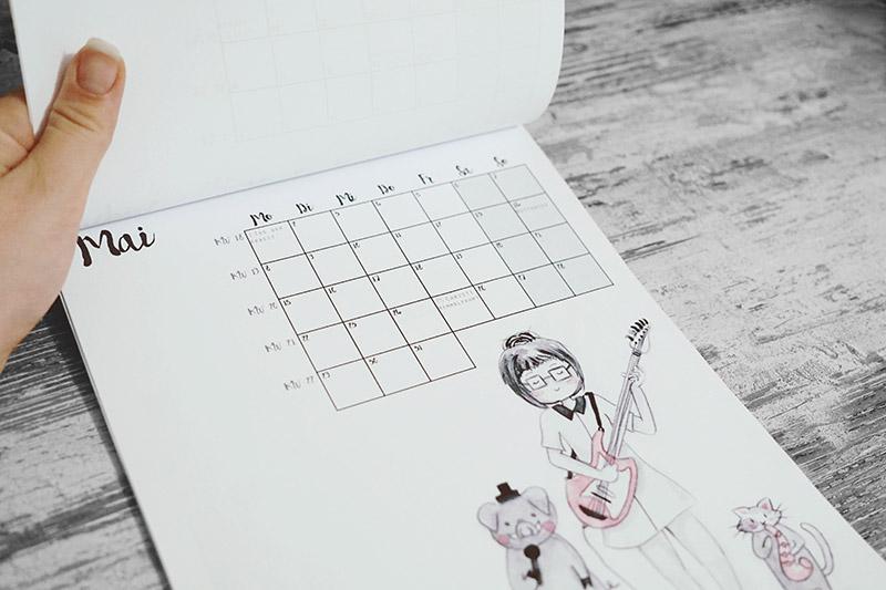 KuneCoco • Doodle-Kalender 2017