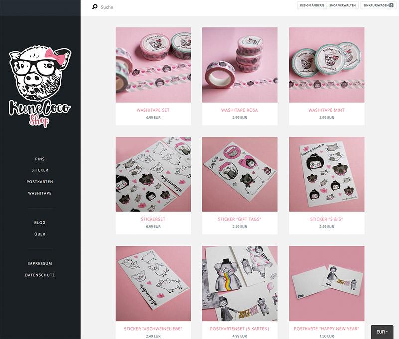 KuneCoco • KuneCoco Shop • Onlineshop Tictail