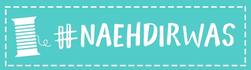 KuneCoco • Ankündigung #naehdirwas • Aktions-Logo