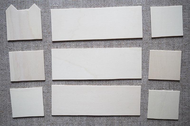 KuneCoco • DIY • Vokabelkasten • Holzzuschnitt