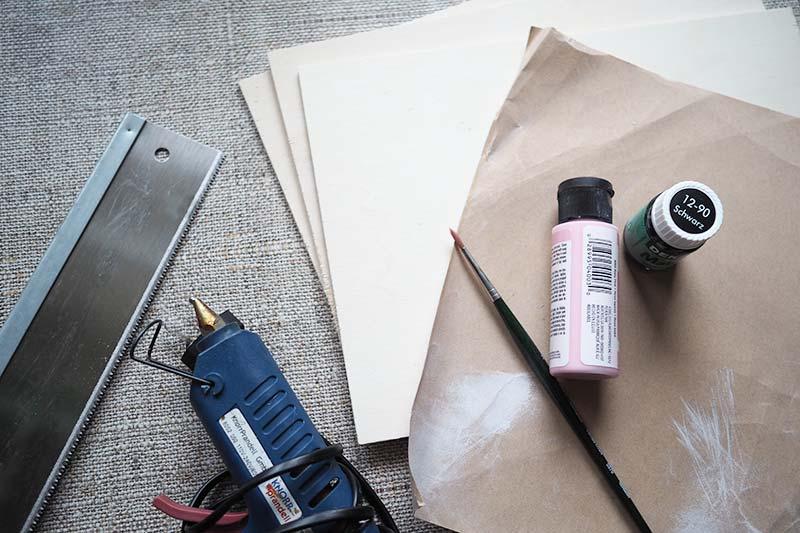 KuneCoco • DIY • Vokabelkasten • Material