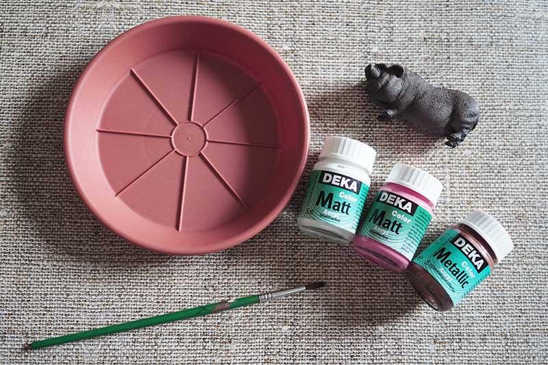 KuneCoco • DIY • Schmuckschale • Material