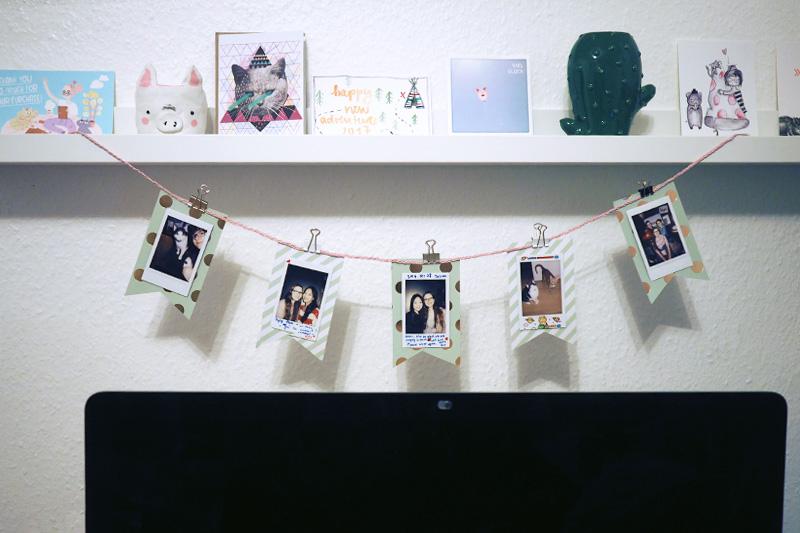DIY ~ Polaroid Wimpelkette