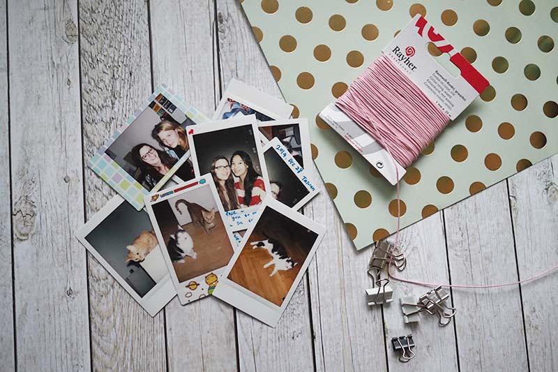 KuneCoco • DIY • Polaroid Wimpelkette • Material