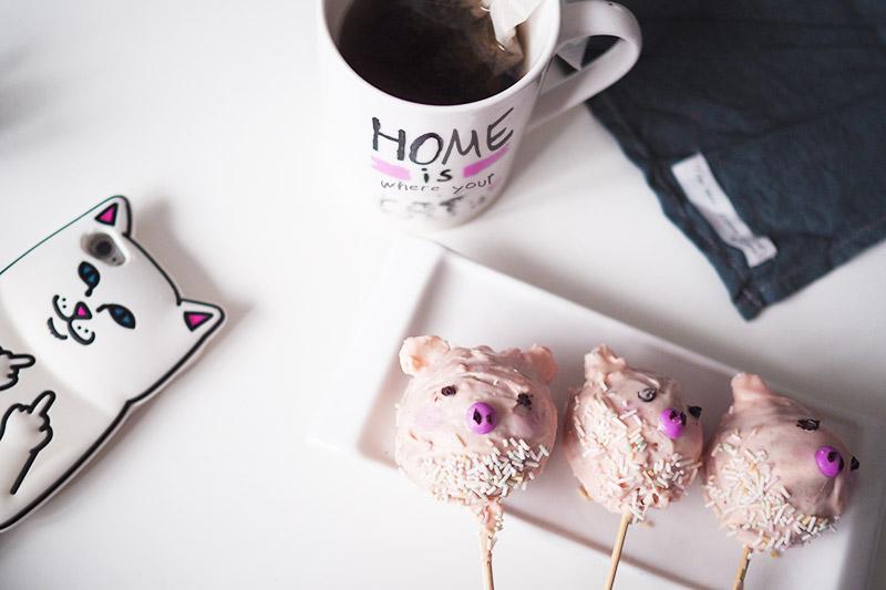 Rezept // Schweinchen-Cakepops