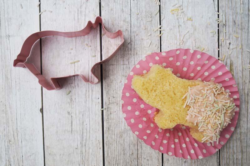 KuneCoco • Rezept • Kuchenschweine aus Zitronenkuchen