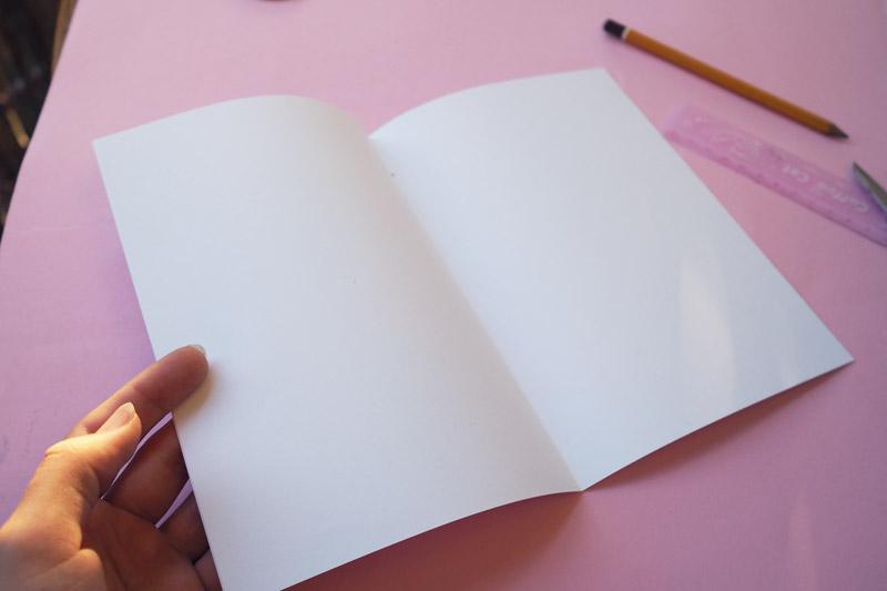 Kopierpaper falten