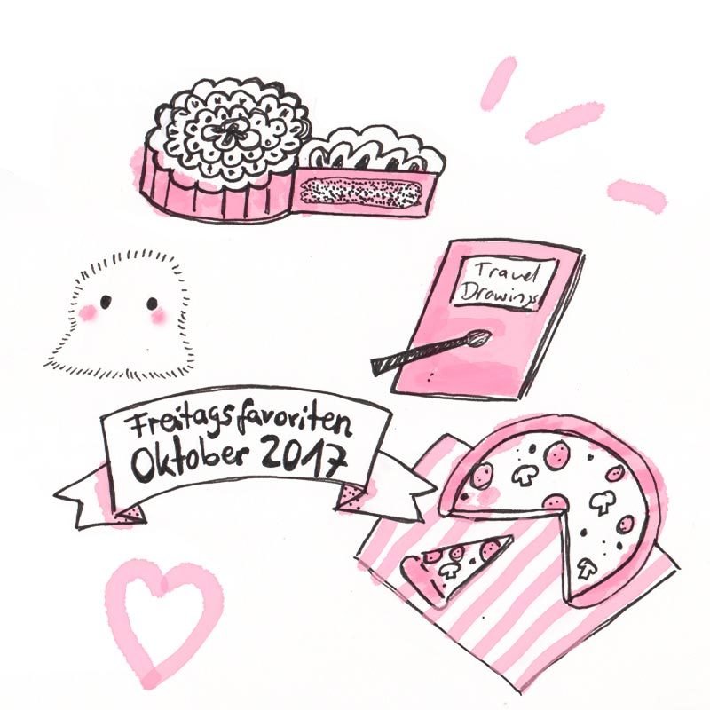 Freitagsfavoriten Oktober 2017, Doodle