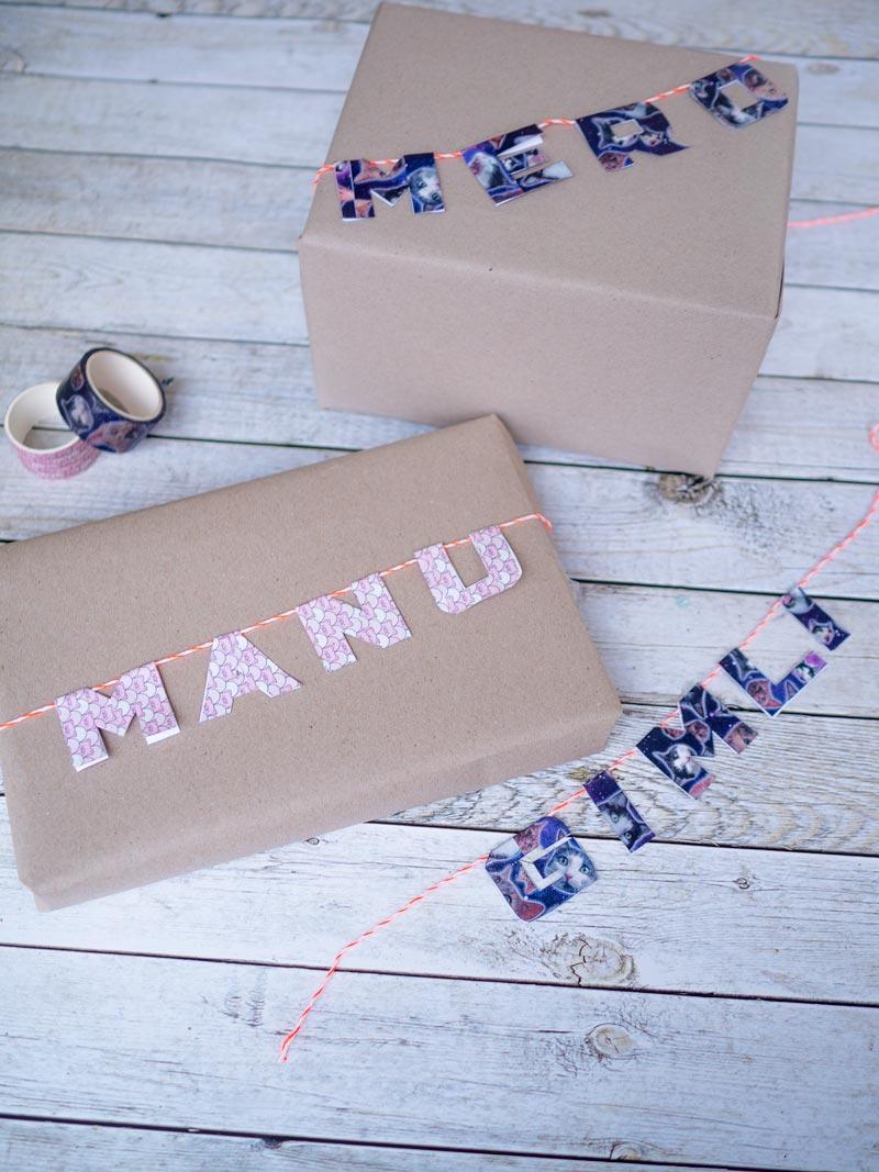 #12giftswithlove: Geschenkverpackung mit Washi Tape