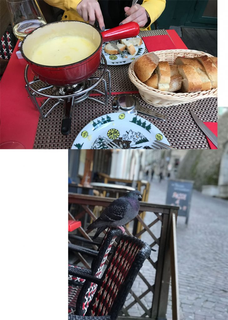 KuneCoco • Abenteuer Blindbooking • Käsefondue in Genf