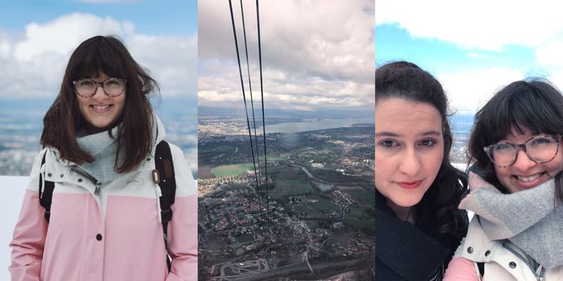 KuneCoco • Abenteuer Blindbooking • Genf, Mt. Salève