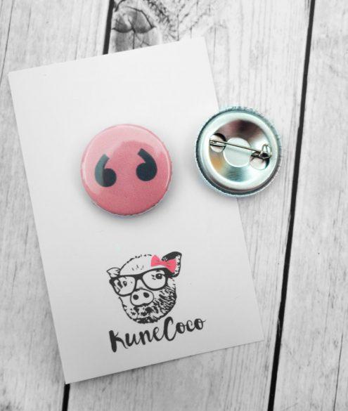 Button Schweinenase