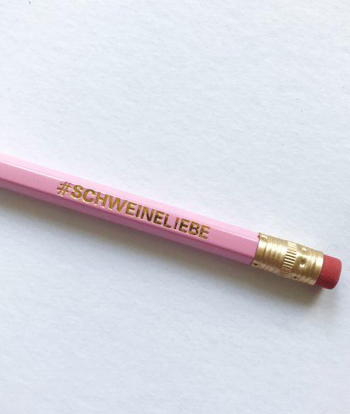 KuneCoco Shop Bleistifte #SCHWEINELIEBE