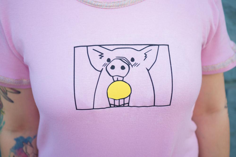 KuneCoco • Ice cream lovers • #naehdirwas • Schweinemotiv