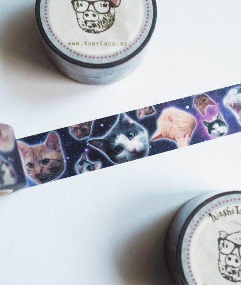 Washitape Galaxycats