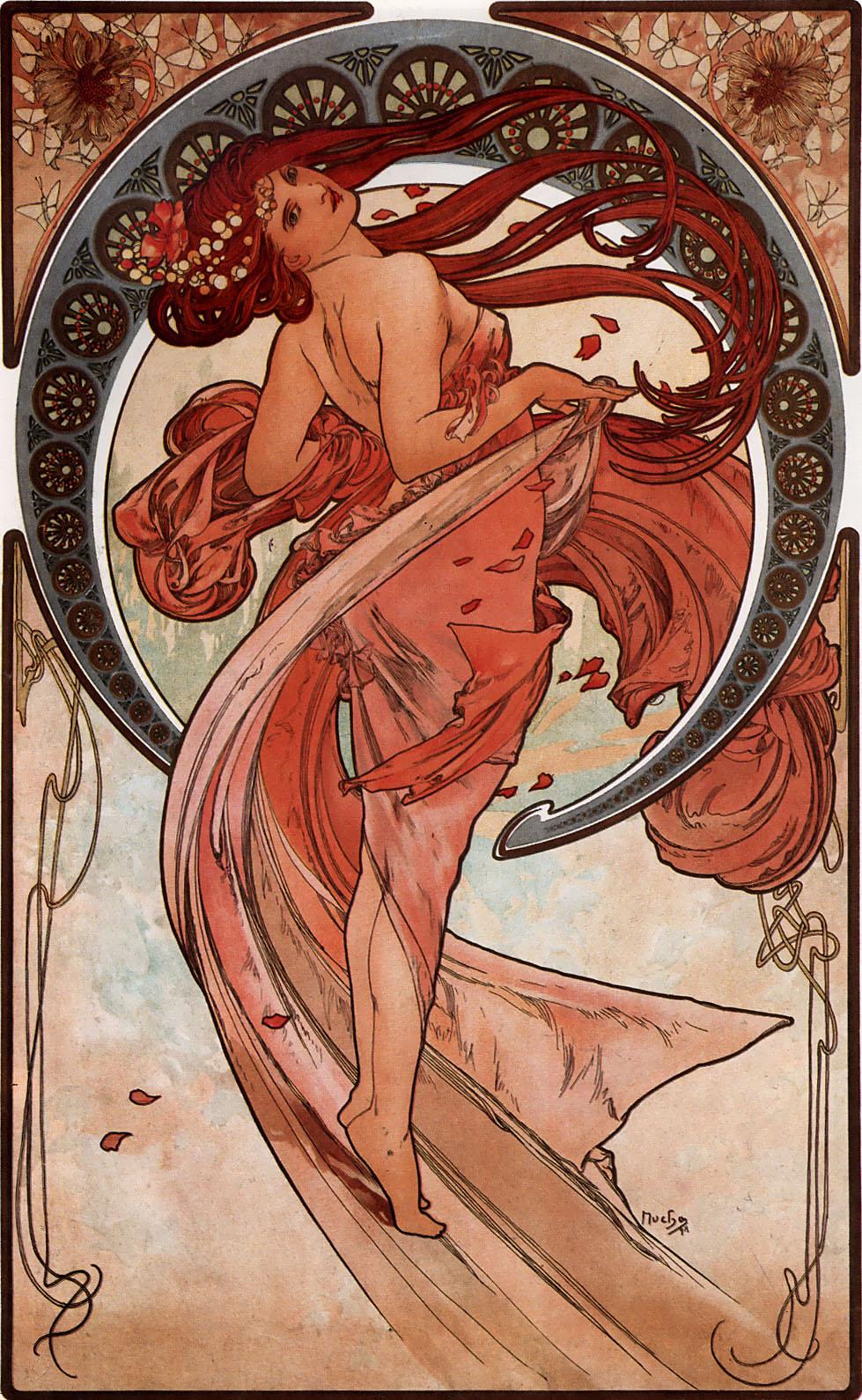 Alfons Mucha, Tanz (1898)