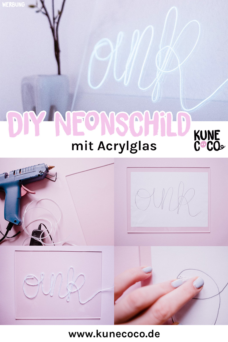 KuneCoco • DIY Acryl-Neonschild